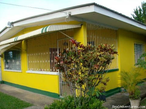 Front elevation Diamond Vale guest house - Sunny Caribbean Getaway at Tony's Guest House