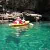 Sea kayaking around Dubrovnik city walls