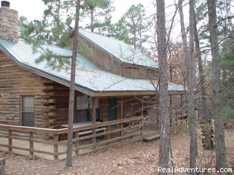 Beavers Lodge Cabin - Mountaineercabins in Beavers Bend peaceful yet fun