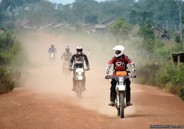 Riding the trails of Cambodia