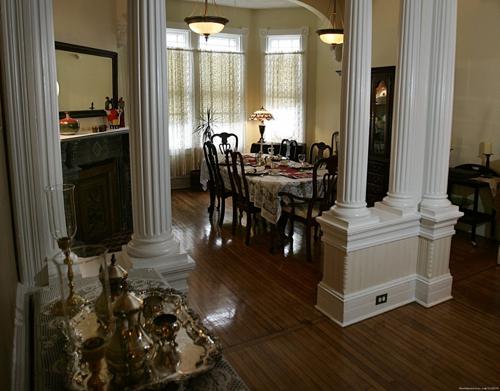 Dining Parlor &  Historic Columns | Image #10/16 | A Jewel of Comfort & Hospitality - Magnolia House
