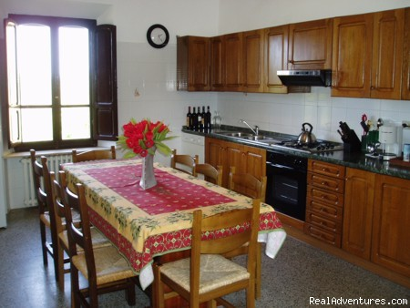 kitchen - Beautiful Indipendent Villa In Tuscany
