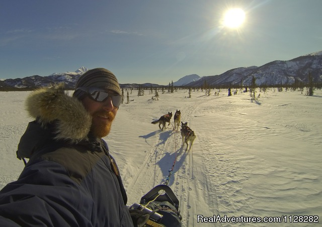 Dog sledding at Iniakuk Lake - Alaska Brooks Range Dog Sledding Tours