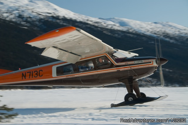 Ski plane transport - Alaska Brooks Range Dog Sledding Tours