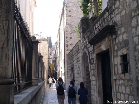 Dubrovnik-Historical City Center Apartments: Apartment's street