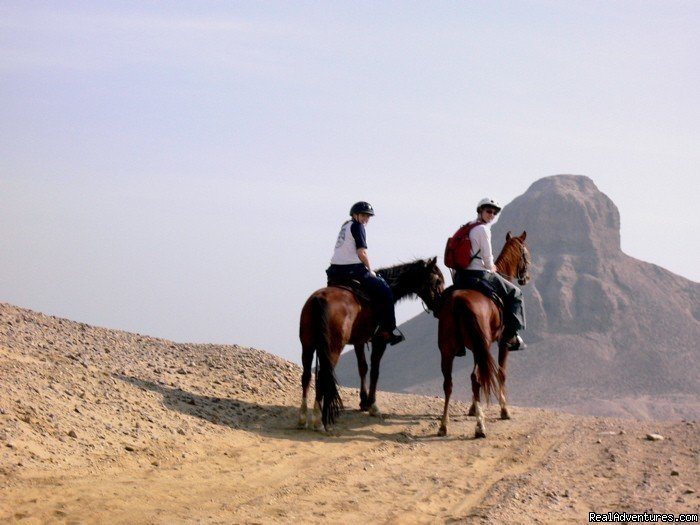 The Only Way To See The Black Pyramid | Image #1/5 | Giza, Egypt | Horseback Riding | Explore Egypt on Horseback
