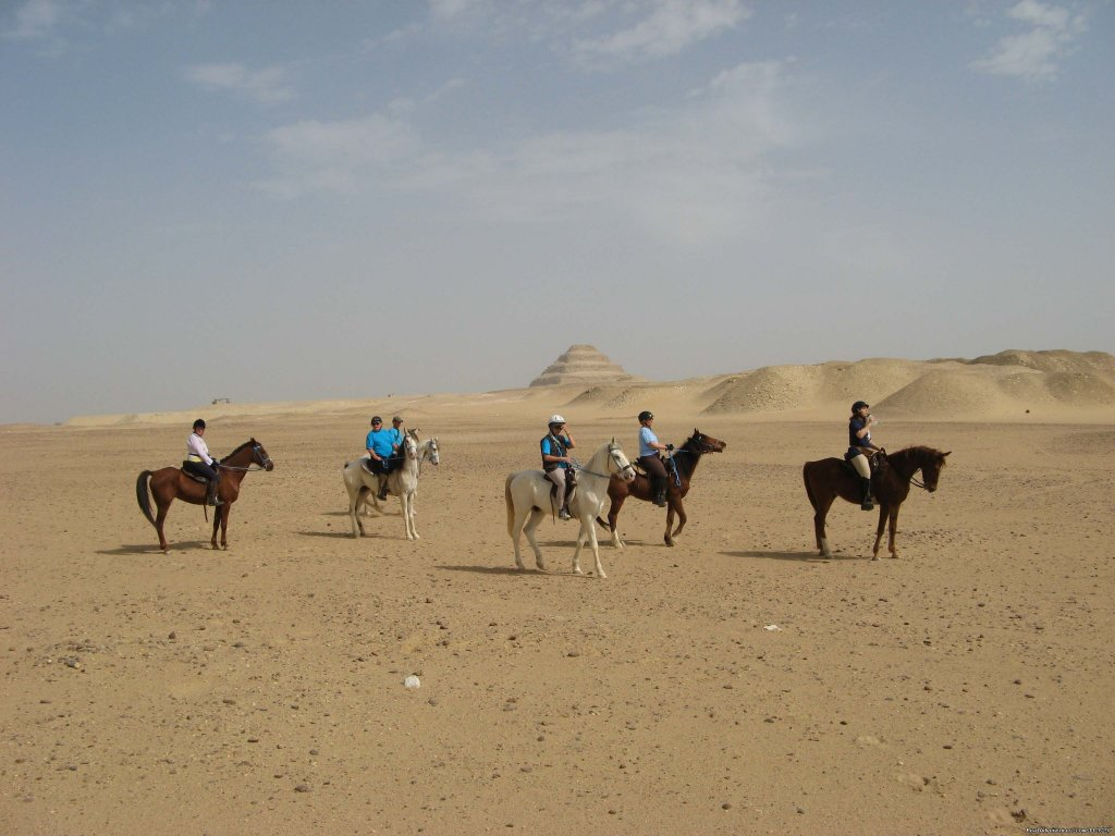 Riding Along the Pyramids | Image #3/5 | Explore Egypt on Horseback