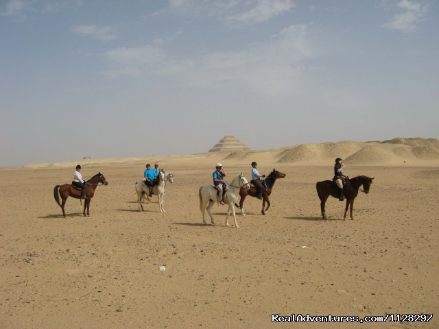 Riding Along the Pyramids - Explore Egypt on Horseback