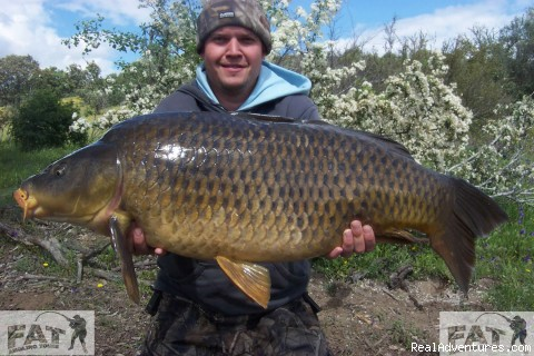 Carp, Cat, Barbel & Coarse Fishing in Spain