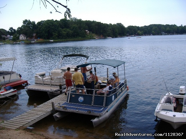 boat rentals,  (#8 of 11) - Cabin's on the Lake in Michigan
