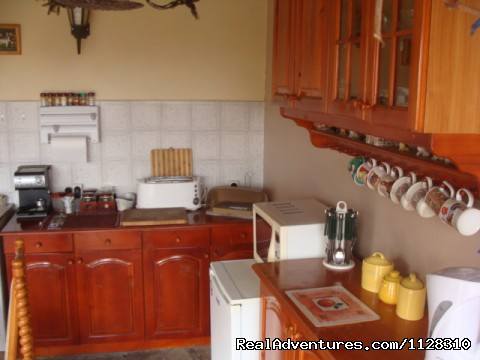The Well Furnished Summer Kitchen - Holiday in a Rural Bulgarian Setting