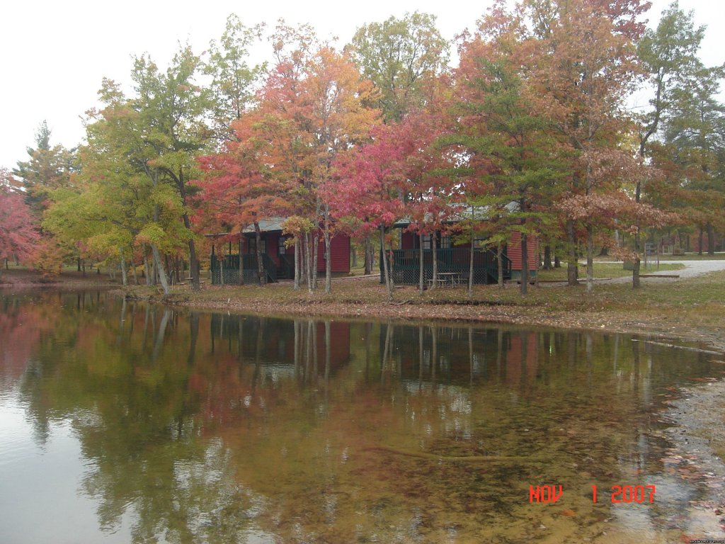 200 acre RV Resort/Campground located in Crossville, TN on the Cumberland Plateau. Large, full hookup sites; lakeside cabin rentals, camper rentals, gated access, private lake, church service,store, wifi, many amenities.