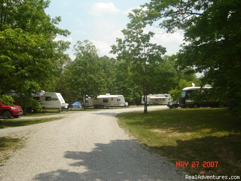 Large, full hookup RV sites - Deer Run RV Resort - Where Camping is a Pleasure