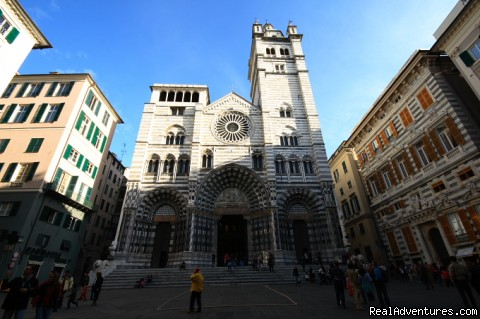 Cathedral San Lorenzo in Genova - Learn Italian in Genoa (Italy) by the sea