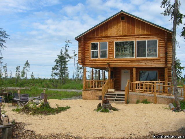 front view of lodge | Image #2/6 | Relax in Solitude In Rustic Cabin Bed & Breakfast