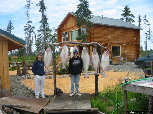 great fishing near by | Image #3/6 | Relax in Solitude In Rustic Cabin Bed & Breakfast