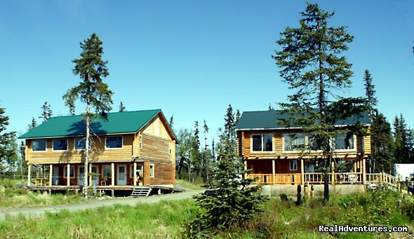 Semi remote log cabin lodge nestled off the beaten path yet not far from world class fishing, clam digging and awesome wildlife viewing. Our rooms are very nice all hand built log furnishings built by myself, the owner