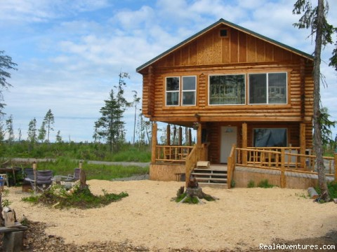 front view of lodge - Relax in Solitude In Rustic Cabin Bed & Breakfast
