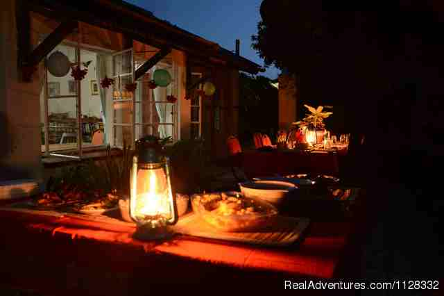 Lamp lite dinner - Eco adventure at Watamu Kenya