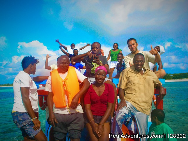 Mwamba team building blu safari - Eco adventure at Watamu Kenya