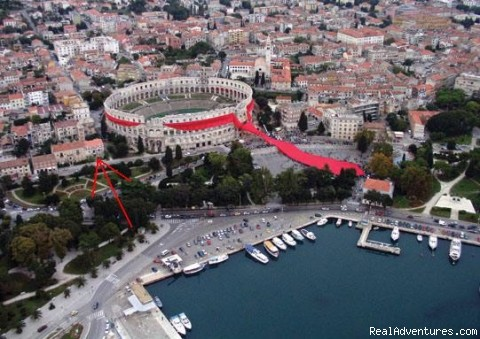 Only 100 m from the sea - Apartments Pula Arena Croatia