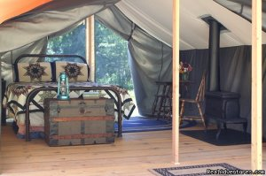 Huckleberry Tent and Breakfast - Sandpoint Idaho Sandpoint, Idaho Bed & Breakfasts