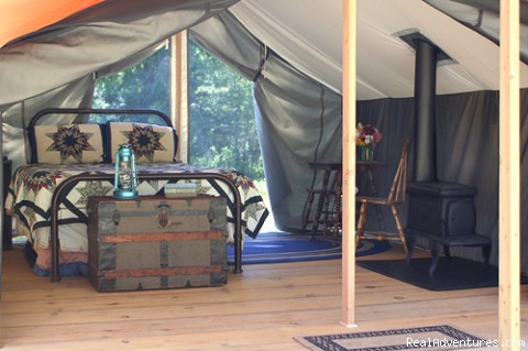 Huckleberry Tent and Breakfast - Sandpoint Idaho Bed & Breakfasts Sandpoint, Idaho