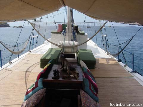Deck - Komodo Sailing