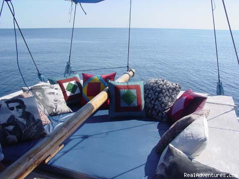Vip Bed - Komodo Sailing