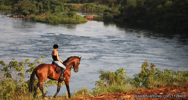 Nile Horseback Safaris by the Nile in Uganda