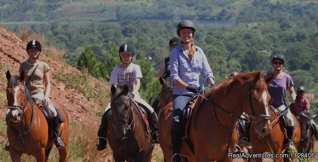 Fantastic Horses - Nile Horseback Safaris by the Nile in Uganda