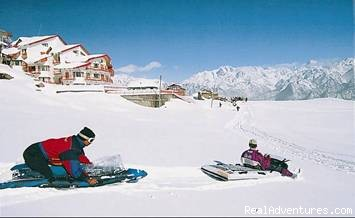 Snow Sports Lovers Heaven - Skiing at Worlds 2nd Highest Resort-CliffTop,Auli