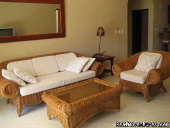 Living Room - Welcome to Paradise...Oceanfront Vacation Condos