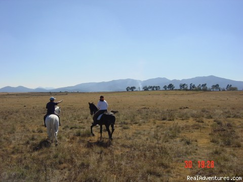 Horse riding Holiday in Mexico Mountain views