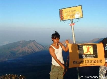 Rinjani Trekking Information: On the Summit of Mount Rinjani