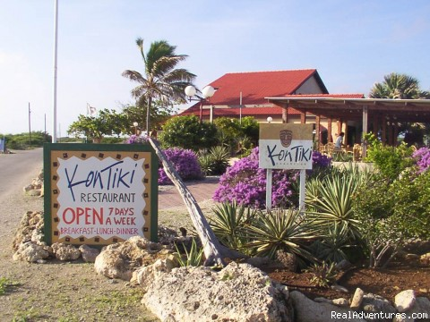 Front View - Windsurf Bonaire and Stay at KonTiki