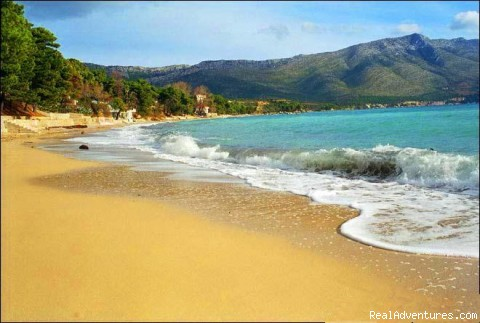 Apartment Peljesac: Beach