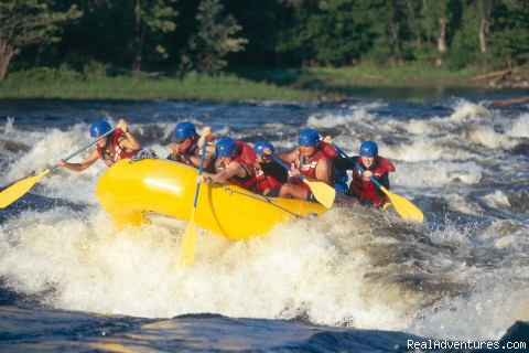 White Water Rafting Adventures Available - Best of the Great Outdoors and Great Indoors