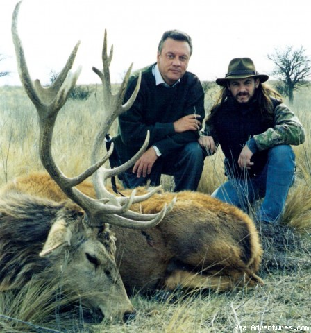 Front View - Hunting in Argentina