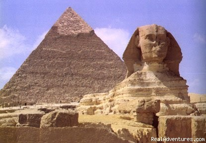 Giza Pyramids & Sphinx in Cairo - Excursion from Hurghada to Cairo & Giza by FLIGHT