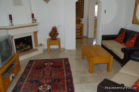 Main Lounge with Satellite TV/DVD - Large Turkey Vacation Villa with Private Pool