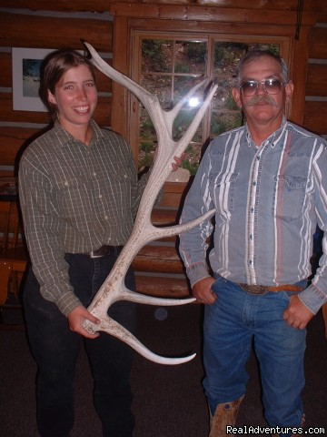 Hunting Elk Horn Sheds - Small Authentic Old West Guest Ranch Experience