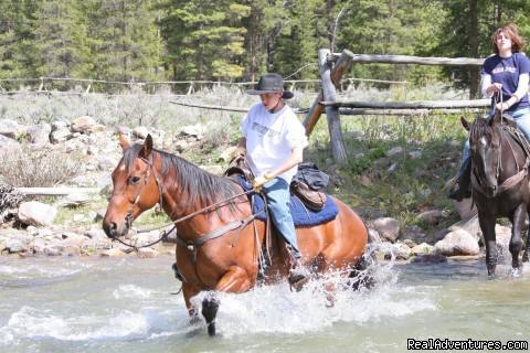 Getting Started On A Ride - Small Authentic Old West Guest Ranch Experience