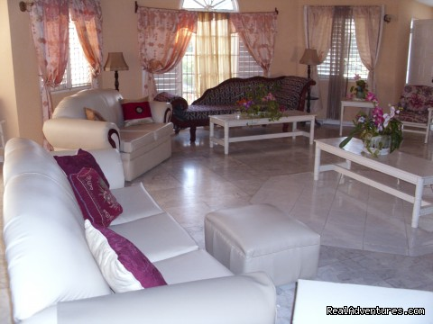 Partial Living Area (#7 of 21) - Affordable  Villa with pool -Runaway Bay Jamaica