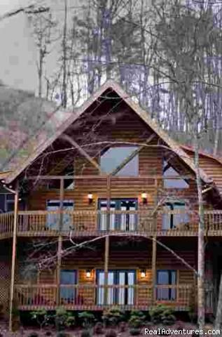 Bella vista lodge a luxury vacation cabin north georgia for Vacation cabins north georgia mountains