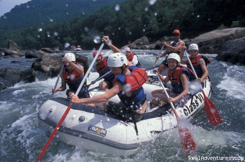 West Virginia Whitewater Rafting Vacation: New River Whitewater Vacation