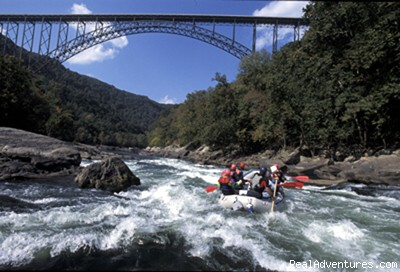 Whitewater rafting in West Virginia - West Virginia Whitewater Rafting Vacation