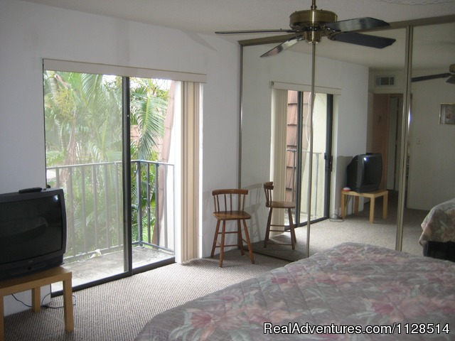 Outside Look At The Unit - 3 bedroom Townhouse , private courtyard, pool