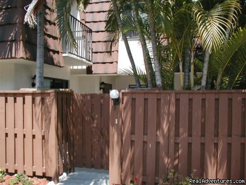 Front Entrence - 3 bedroom Townhouse , private courtyard, pool