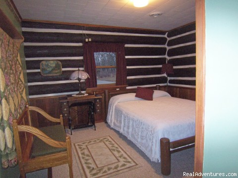 Bedroom - Bed & Breakfast of Cabin Cove's private hide-a-way